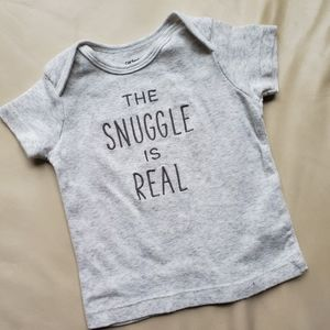 Carter's Snuggle is Real Shirt